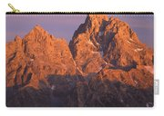 1m9377-sunset On Grand Teton Carry-all Pouch