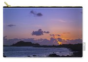 Sunset On Guernsey Carry-all Pouch