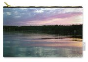 Sunset On Gull Lake Carry-all Pouch