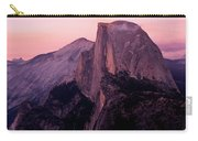 Sunset On Half Dome As Seen Carry-all Pouch