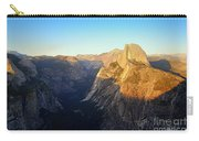 Sunset On Half Dome In Yosemite Carry-all Pouch