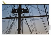 Sunset On Hms Warrior Carry-all Pouch