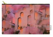 Sunset On Houses Carry-all Pouch