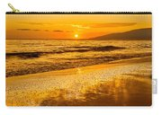 Sunset On Lahaina Carry-all Pouch