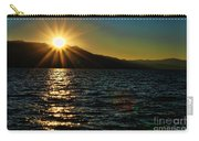 Sunset On Lake Tahoe By Diana Sainz Carry-all Pouch