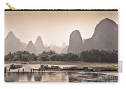 Sunset On Li River Carry-all Pouch