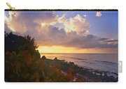 Sunset On Little Cayman Carry-all Pouch