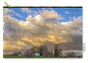 Sunset On Mixed Clouds Carry-all Pouch
