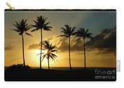 Sunset On Molokai Hawaii Carry-all Pouch