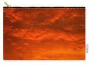 Orange Cloud Sunset Carry-all Pouch