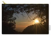 Sunset On San Jacinto Carry-all Pouch