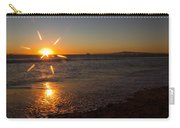 Sunset On Sunset Beach Carry-all Pouch
