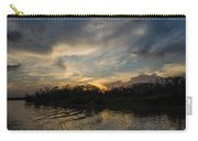 Sunset On The Amazon 1 Carry-all Pouch