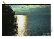 Sunset On The Bay Of Green Bay Wi Carry-all Pouch