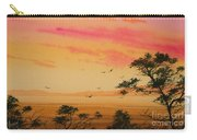 Sunset On The Coast Carry-all Pouch by James Williamson
