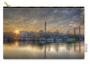 Sunset On The Esifabrik Carry-all Pouch by Nathan Wright