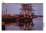 Sunset On The Friendship Of Salem Carry-all Pouch