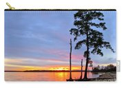 Sunset On The James River Carry-all Pouch