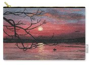Sunset On The Lake Carry-all Pouch