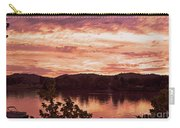 Sunset On The Ohio River  Carry-all Pouch