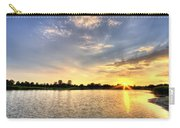 Sunset On The Pond Carry-all Pouch