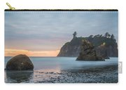Sunset On The Rocks Carry-all Pouch