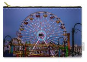 Sunset On The Santa Monica Ferris Wheel Carry-all Pouch