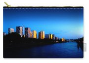 Sunset On The Seine Carry-all Pouch