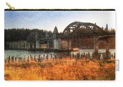 Sunset On The Siuslaw River Carry-all Pouch