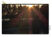 Sunset On The Volga River Carry-all Pouch