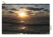 Sunset On Venice Beach  Carry-all Pouch