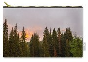 Sunset On West Beckwith Peak Carry-all Pouch