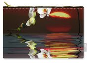 Sunset Orchids Carry-all Pouch