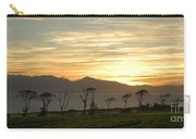 Sunset Over Arran Carry-all Pouch