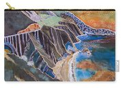 Sunset Over Big Sur Carry-all Pouch