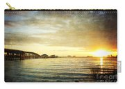 Sunset Over Biloxi Bay Carry-all Pouch
