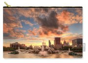 Sunset Over Buckingham Fountain Carry-all Pouch