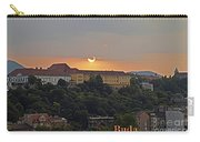 Sunset Over Budapest Carry-all Pouch