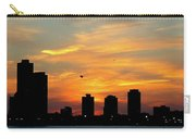 Sunset Over Chicago 0349 Carry-all Pouch