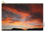 Sunset Over Estes Park Carry-all Pouch