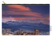 Sunset Over Granada And The Cathedral Carry-all Pouch