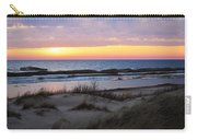 Sunset Over Ice Carry-all Pouch