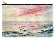 Sunset Over Indian Ocean Carry-all Pouch