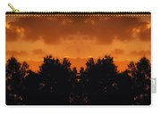 Sunset Over Jackson Michigan Mirror Image Carry-all Pouch