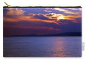 Sunset Over Korcula Carry-all Pouch