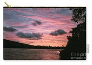 Sunset Over Lake Bailey Carry-all Pouch