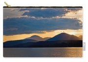 Sunset Over Lake Pend Oreille Carry-all Pouch