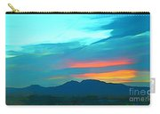 Sunset Over Las Vegas Hills Carry-all Pouch