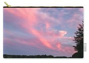 Sunset Over Locke Lake Carry-all Pouch
