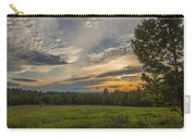 Sunset Over Lupine Fields Carry-all Pouch